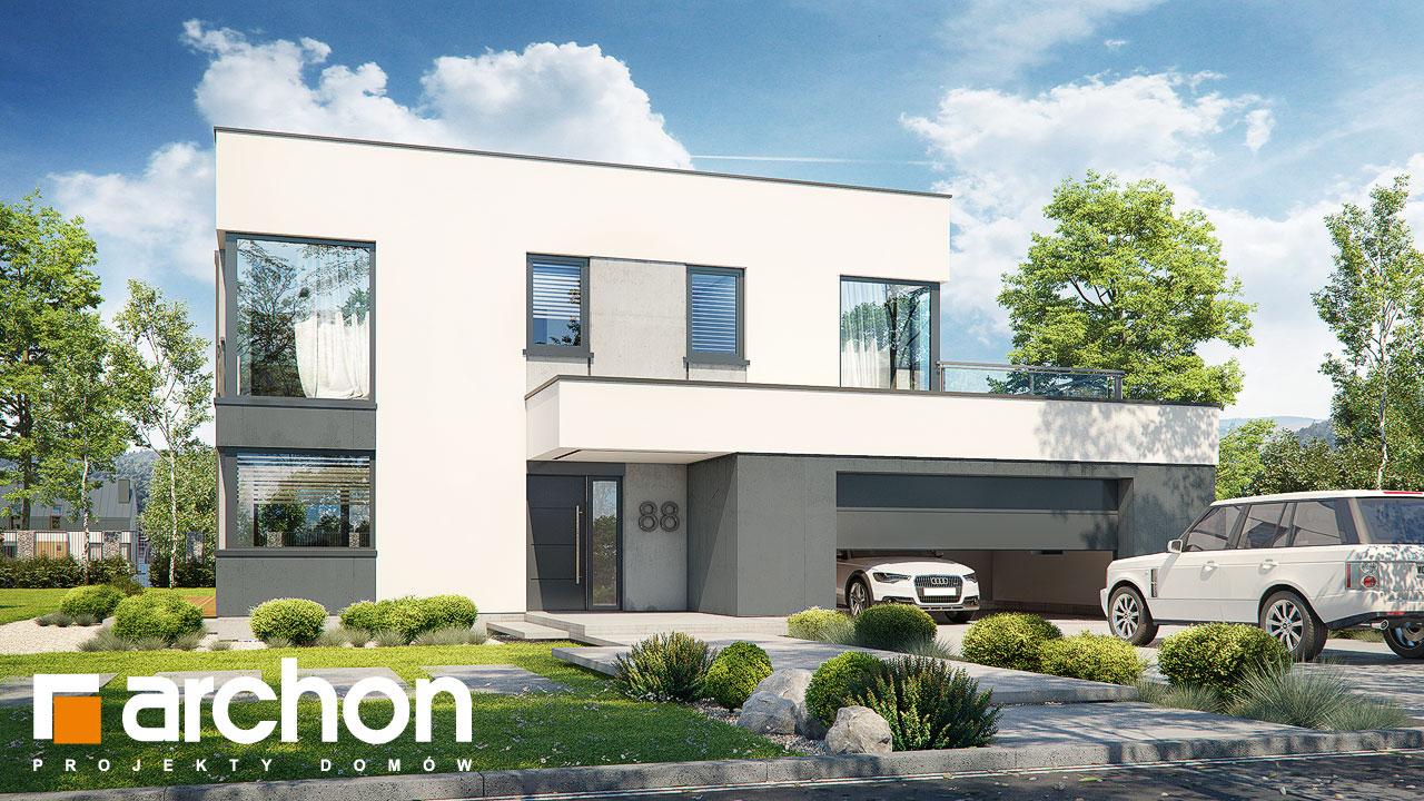Проект будинку ARCHON+ Вілла Міранда 3 (Г2) Вид 2