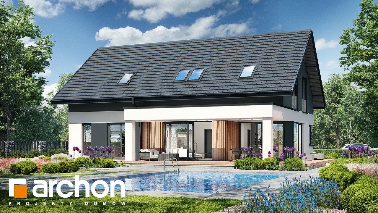 Проект дома ARCHON+ Дом в дабециях 4 (Г)