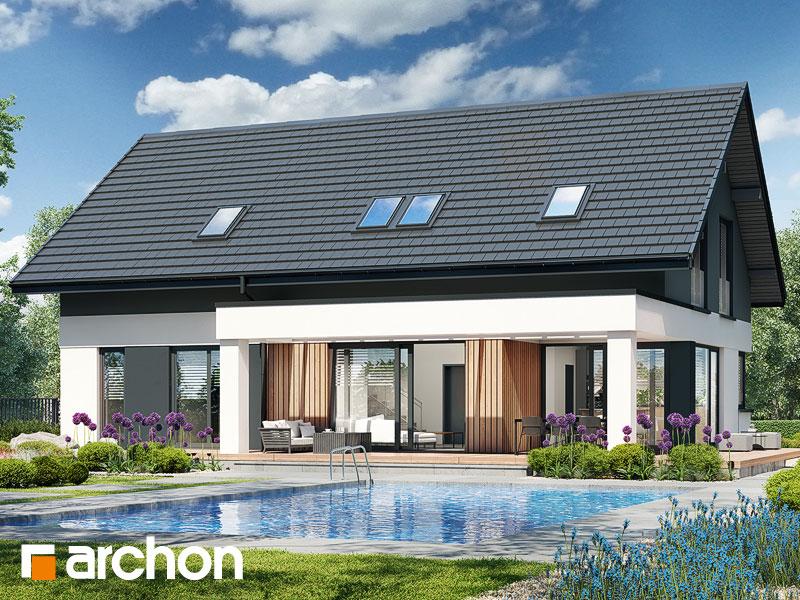 Проект будинку ARCHON+ Будинок в дабеціях 4 (Г) Вид 1