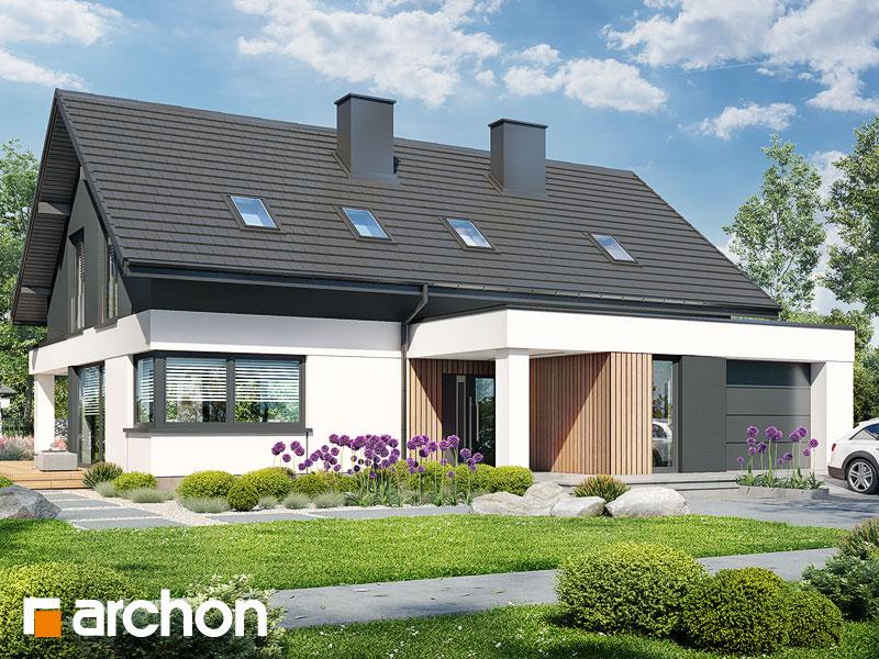 Проект будинку ARCHON+ Будинок в дабеціях 4 (Г) Вид 2