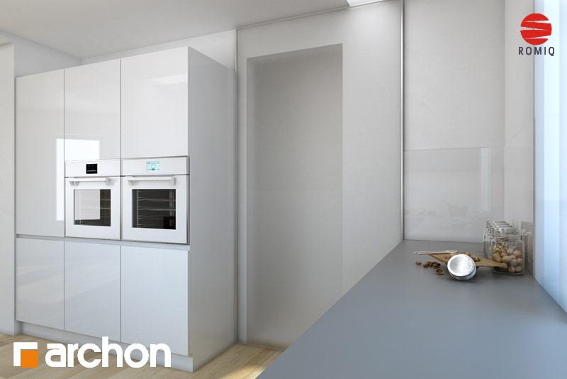 Проект будинку ARCHON+ Будинок в тим'яні аранжування кухні 2 від 3