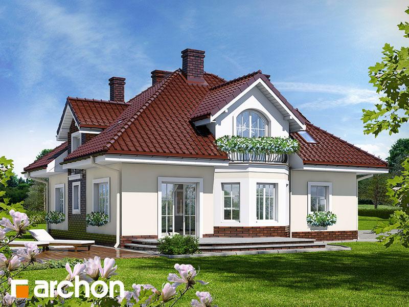 Проект будинку ARCHON+ Будинок в тим'яні Вид 2