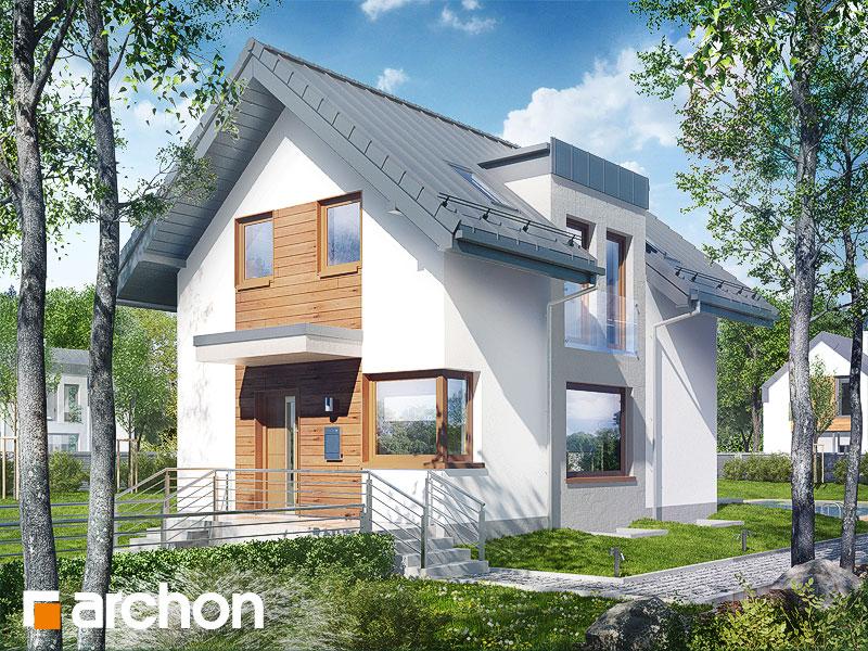Проект будинку ARCHON+ Будинок в андромедах (П) ver.2 стилізація 3