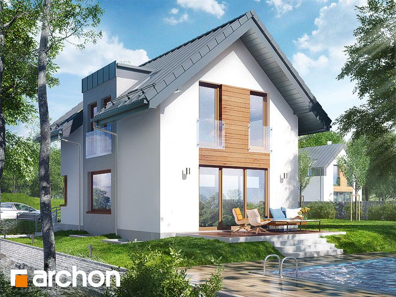 Проект будинку ARCHON+ Будинок в андромедах (П) ver.2 стилізація 4