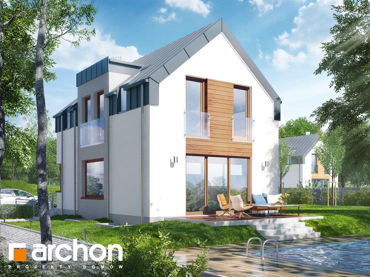 Проект будинку ARCHON+ Будинок в андромедах (П) ver.2 Вид 2