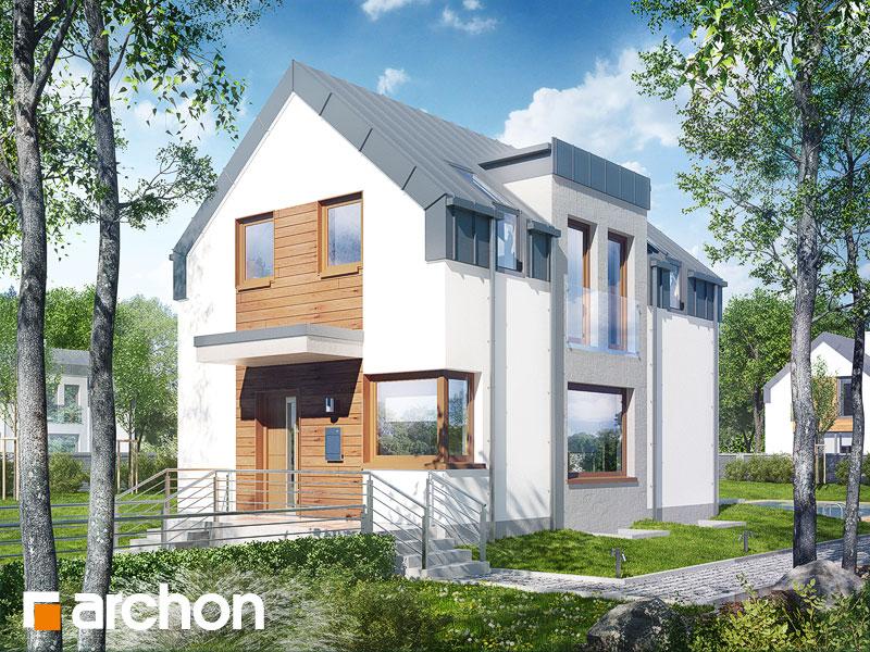 Проект будинку ARCHON+ Будинок в андромедах (П) ver.2 Вид 1