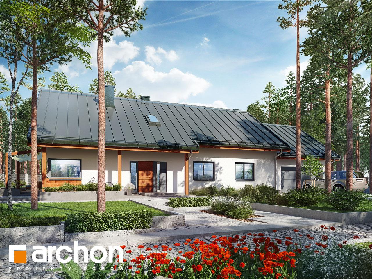 Проект будинку ARCHON+ Будинок в мекінтошах 5 (Г2) Вид 2