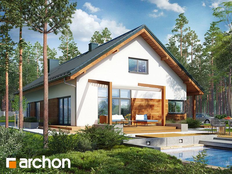 Проект будинку ARCHON+ Будинок в мекінтошах 5 (Г2) Вид 1