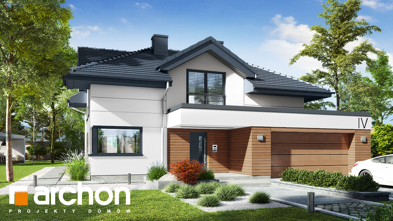 Проект будинку ARCHON+ Вілла Міранда 5 (Г2) додаткова візуалізація