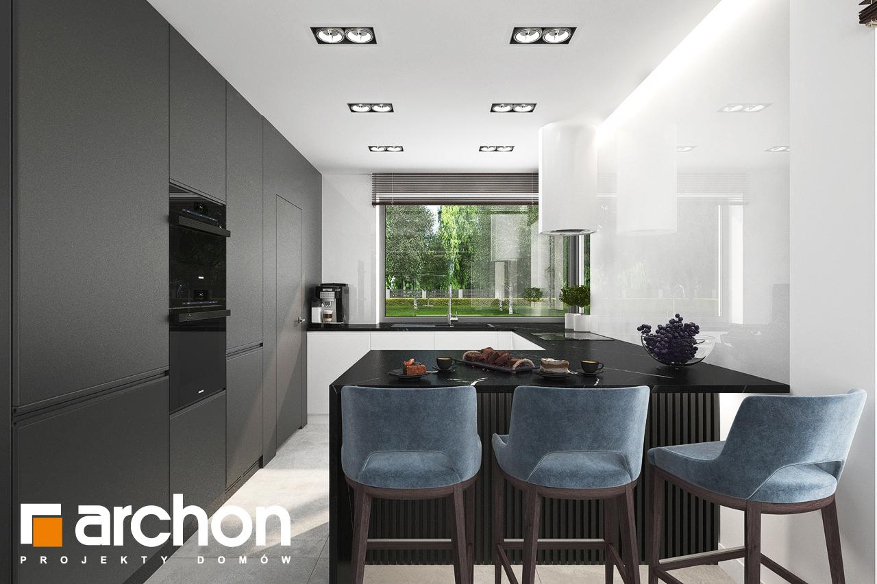 Проект будинку ARCHON+ Вілла Міранда 5 (Г2) візуалізація кухні 1 від 1