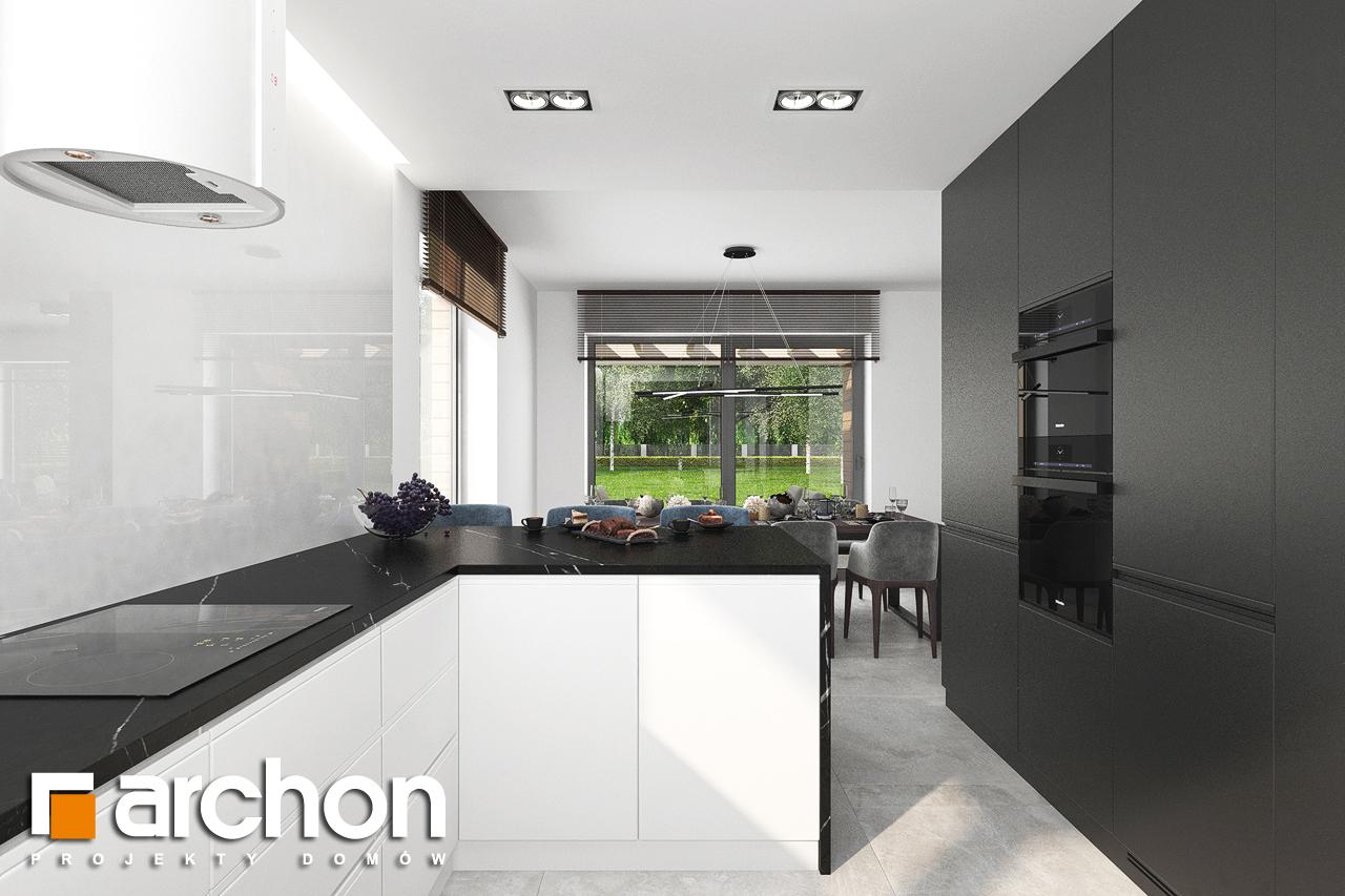Проект будинку ARCHON+ Вілла Міранда 5 (Г2) візуалізація кухні 1 від 2