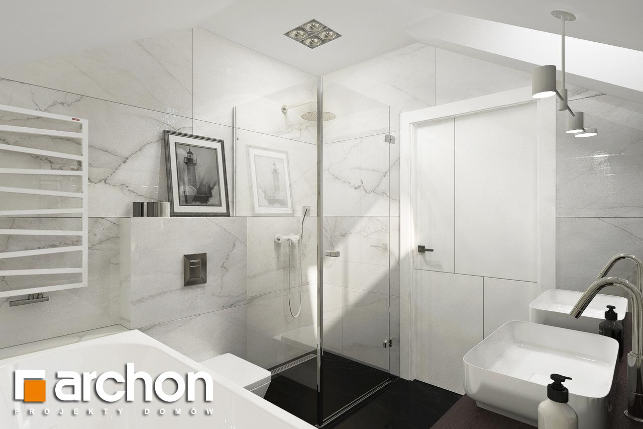 Проект будинку ARCHON+ Вілла Міранда 5 (Г2) візуалізація ванни (візуалізація 3 від 1)