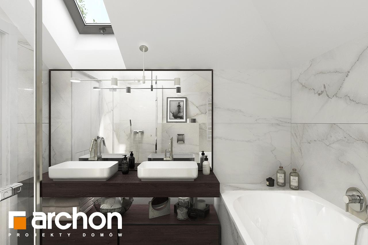 Проект будинку ARCHON+ Вілла Міранда 5 (Г2) візуалізація ванни (візуалізація 3 від 2)
