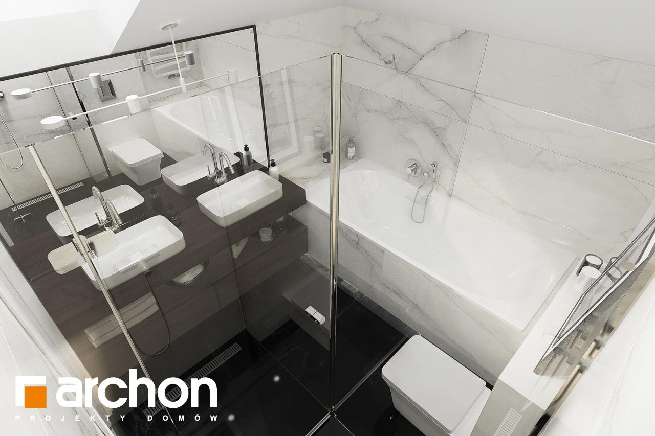 Проект будинку ARCHON+ Вілла Міранда 5 (Г2) візуалізація ванни (візуалізація 3 від 3)