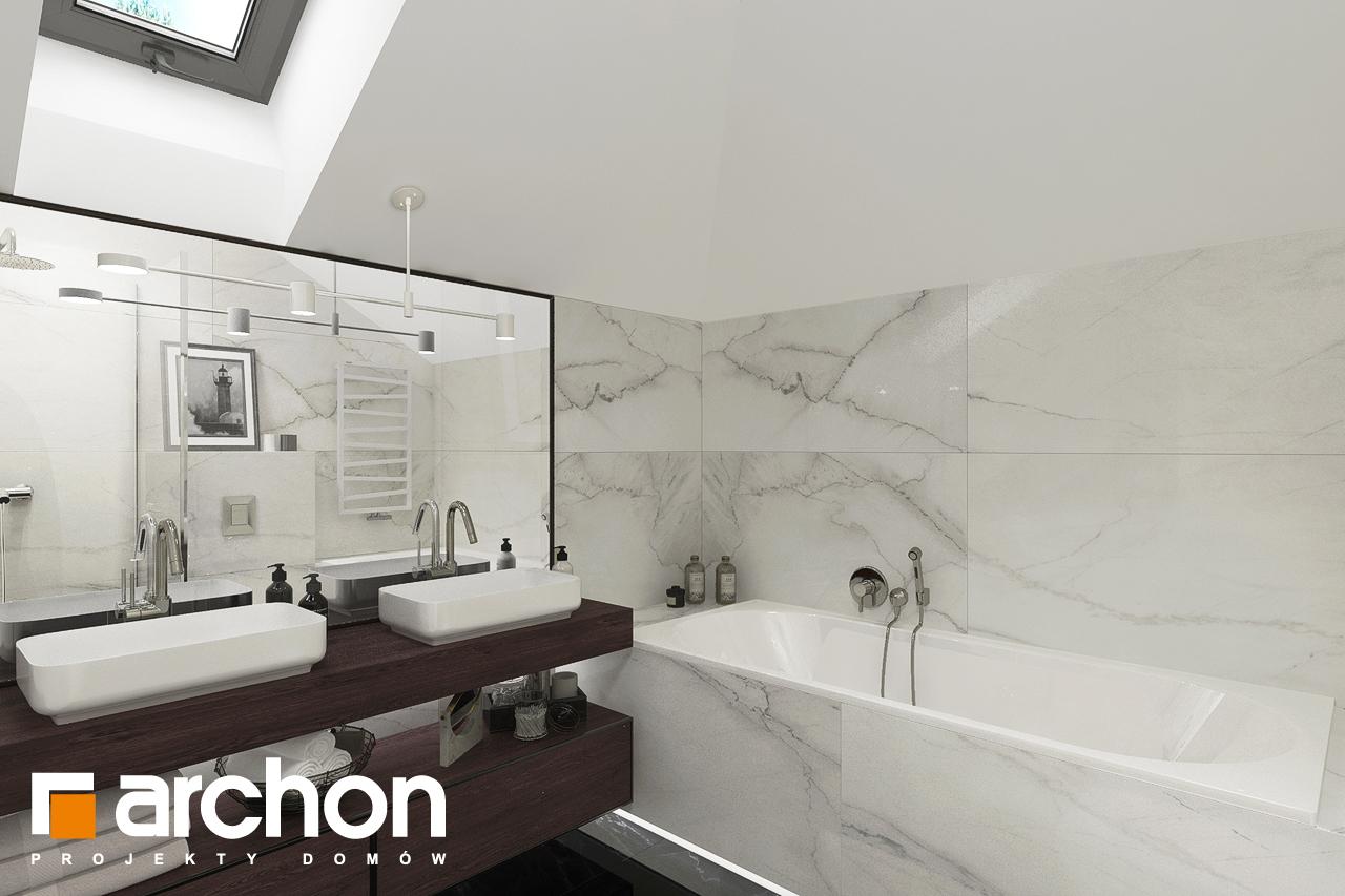 Проект будинку ARCHON+ Вілла Міранда 5 (Г2) візуалізація ванни (візуалізація 3 від 4)