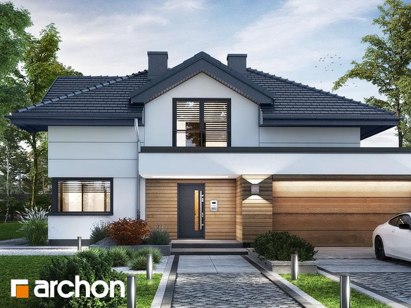 Проект будинку ARCHON+ Вілла Міранда 5 (Г2) Вид 1
