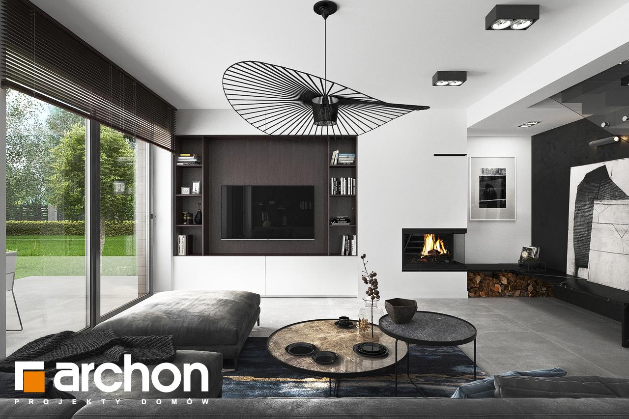 Проект будинку ARCHON+ Вілла Міранда 5 (Г2) денна зона (візуалізація 1 від 1)