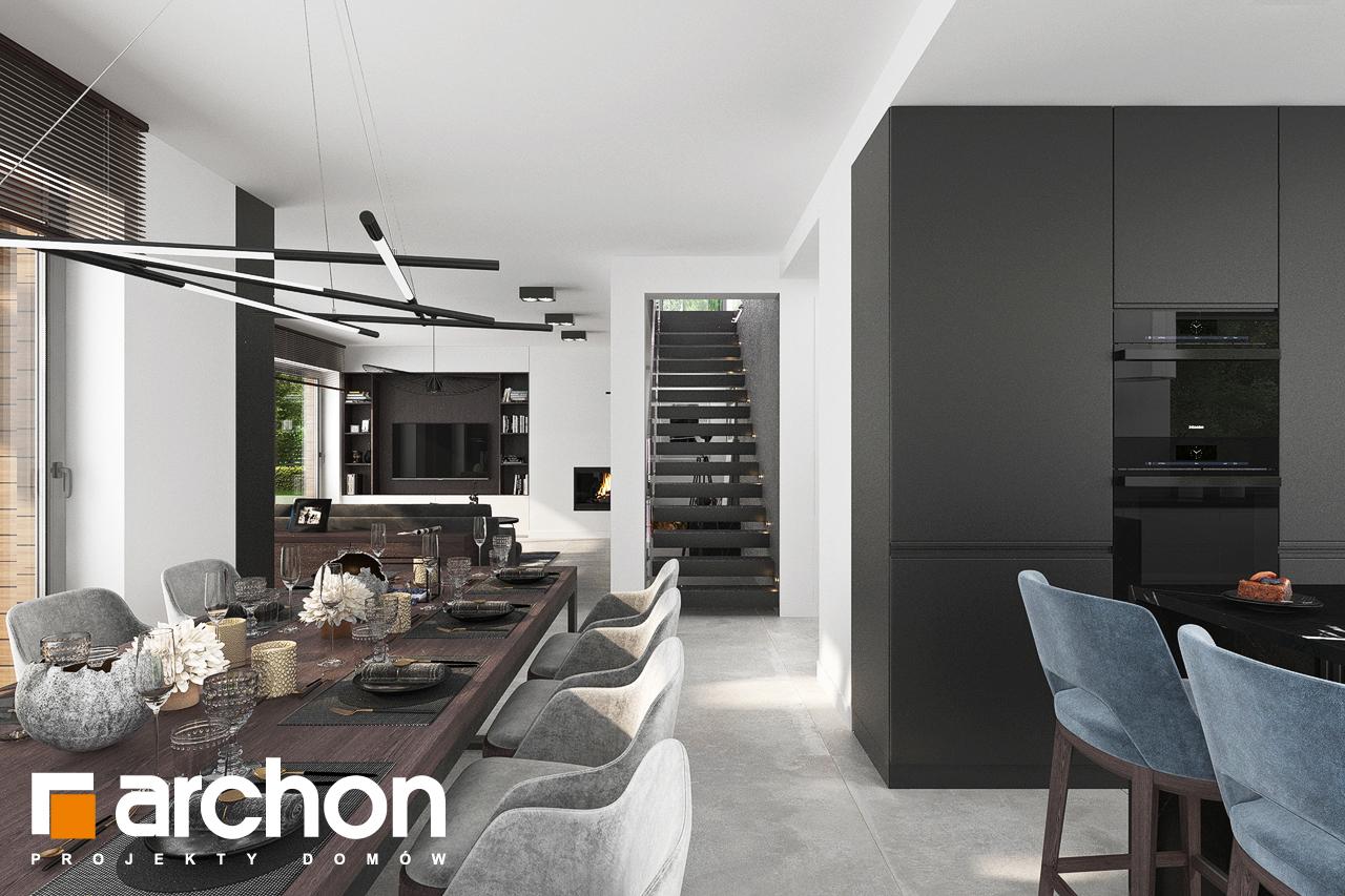 Проект будинку ARCHON+ Вілла Міранда 5 (Г2) денна зона (візуалізація 1 від 2)