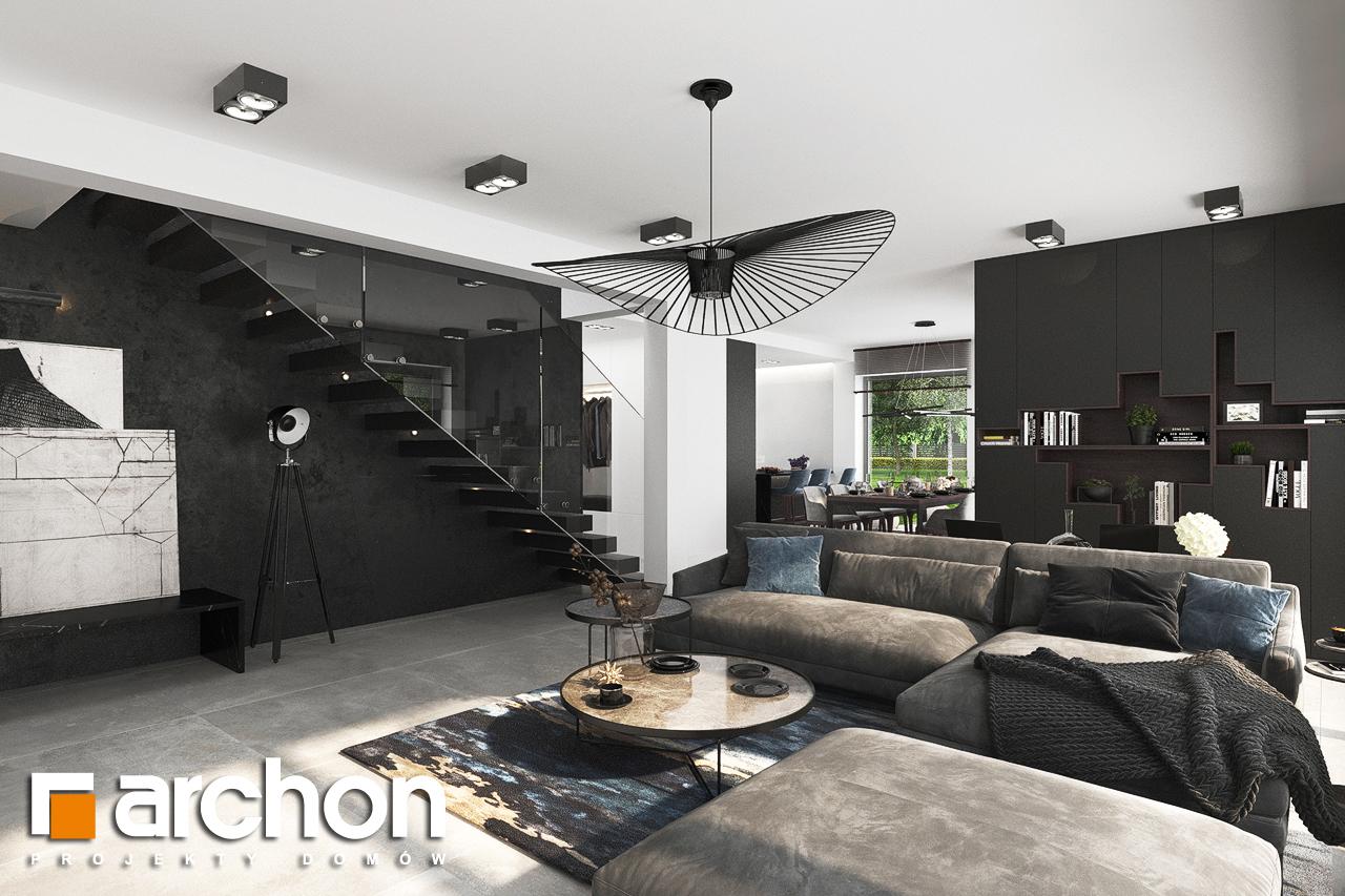 Проект будинку ARCHON+ Вілла Міранда 5 (Г2) денна зона (візуалізація 1 від 4)