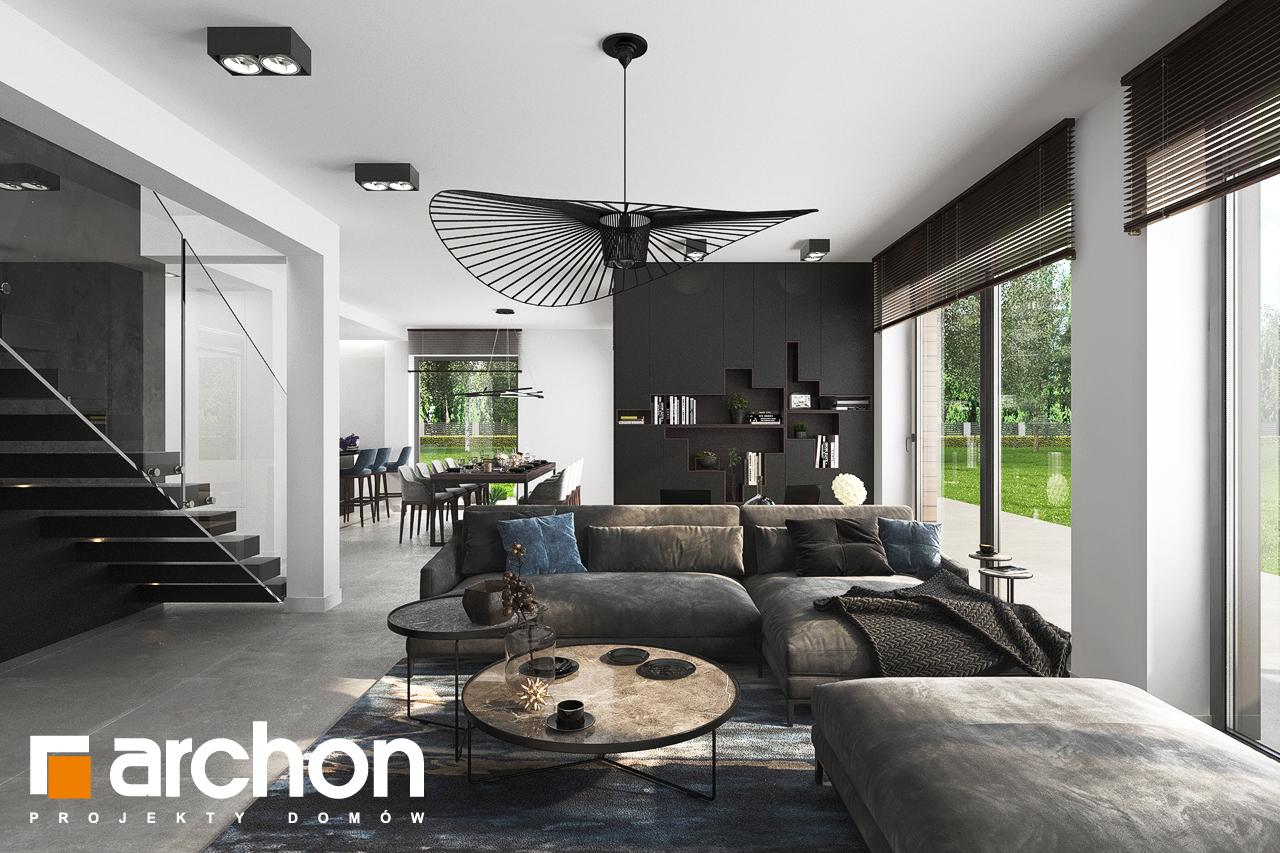 Проект будинку ARCHON+ Вілла Міранда 5 (Г2) денна зона (візуалізація 1 від 5)