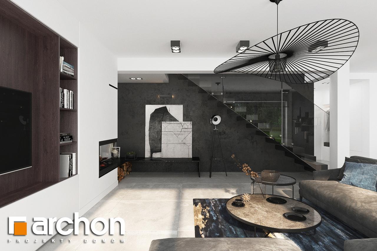 Проект будинку ARCHON+ Вілла Міранда 5 (Г2) денна зона (візуалізація 1 від 6)