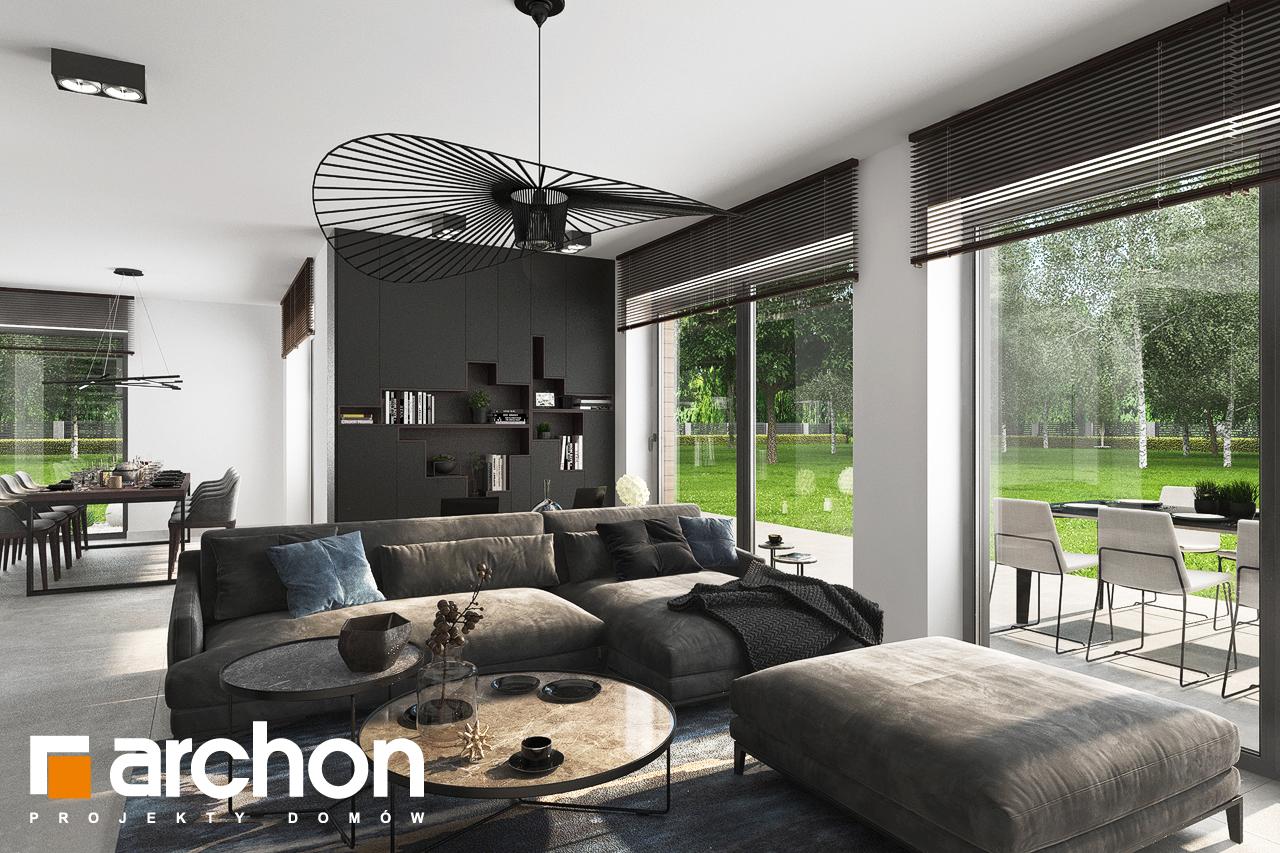 Проект будинку ARCHON+ Вілла Міранда 5 (Г2) денна зона (візуалізація 1 від 7)
