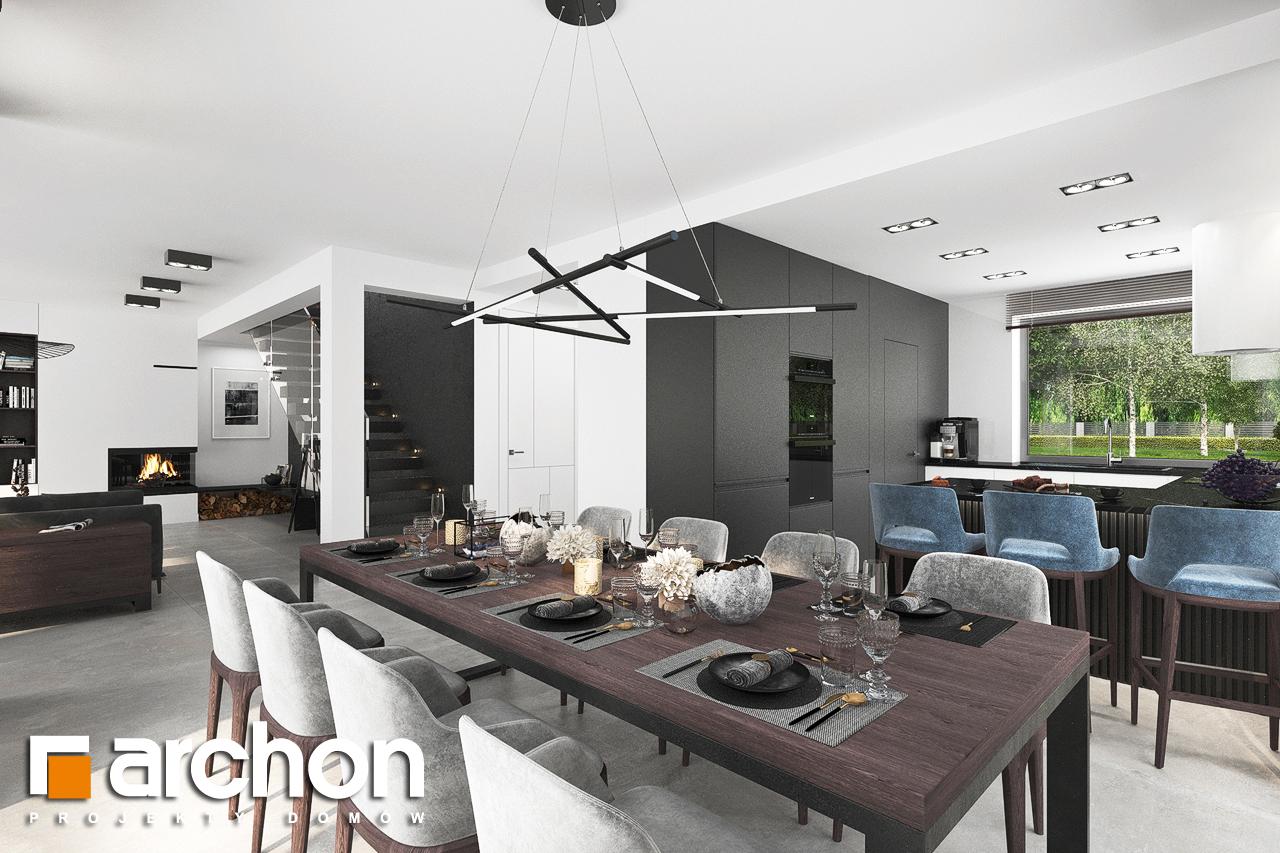 Проект будинку ARCHON+ Вілла Міранда 5 (Г2) денна зона (візуалізація 1 від 8)
