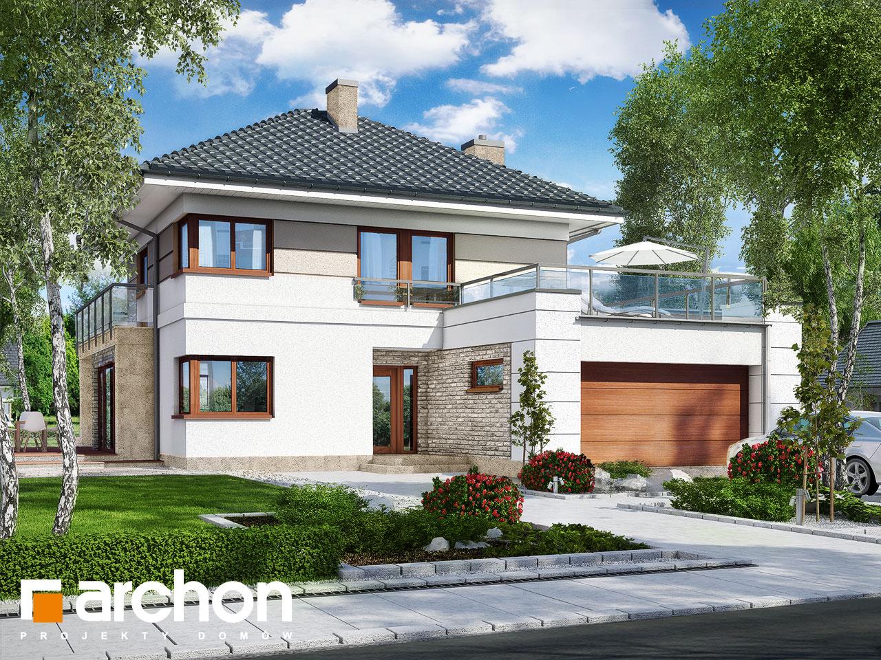 Проект будинку ARCHON+ Вілла Еліза 2 Вид 2