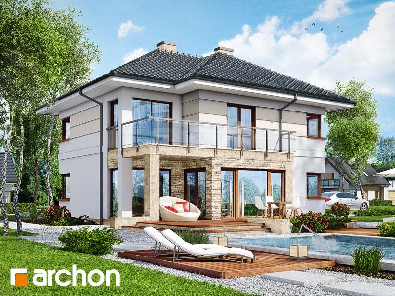 Проект будинку ARCHON+ Вілла Еліза 2 Вид 1
