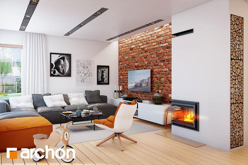 Проект будинку ARCHON+ Вілла Еліза 2 денна зона (візуалізація 1 від 1)
