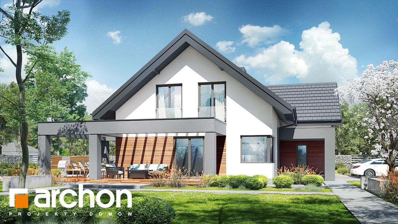 Проект будинку ARCHON+ Будинок в альбіціях 2 (Г2) додаткова візуалізація