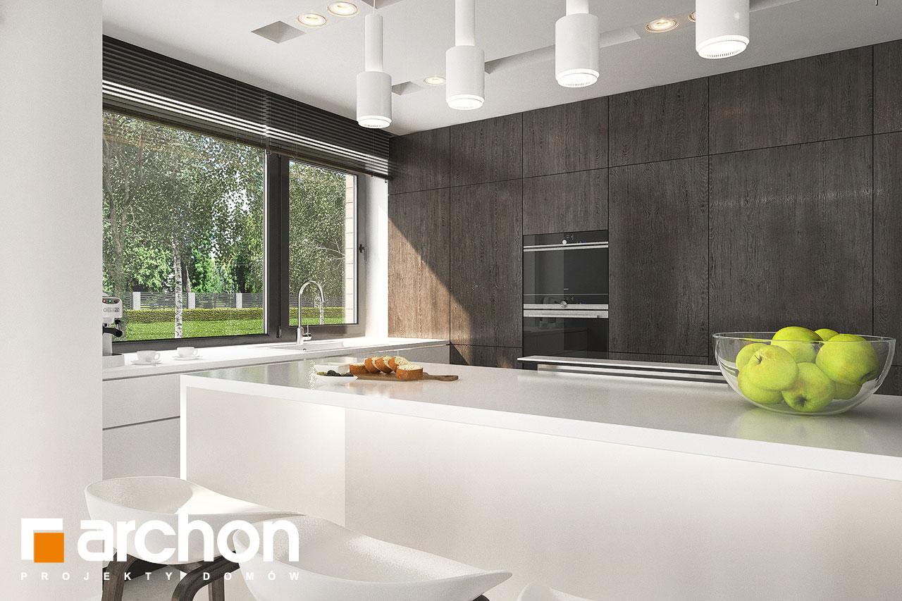 Проект будинку ARCHON+ Будинок в альбіціях 2 (Г2) візуалізація кухні 1 від 1