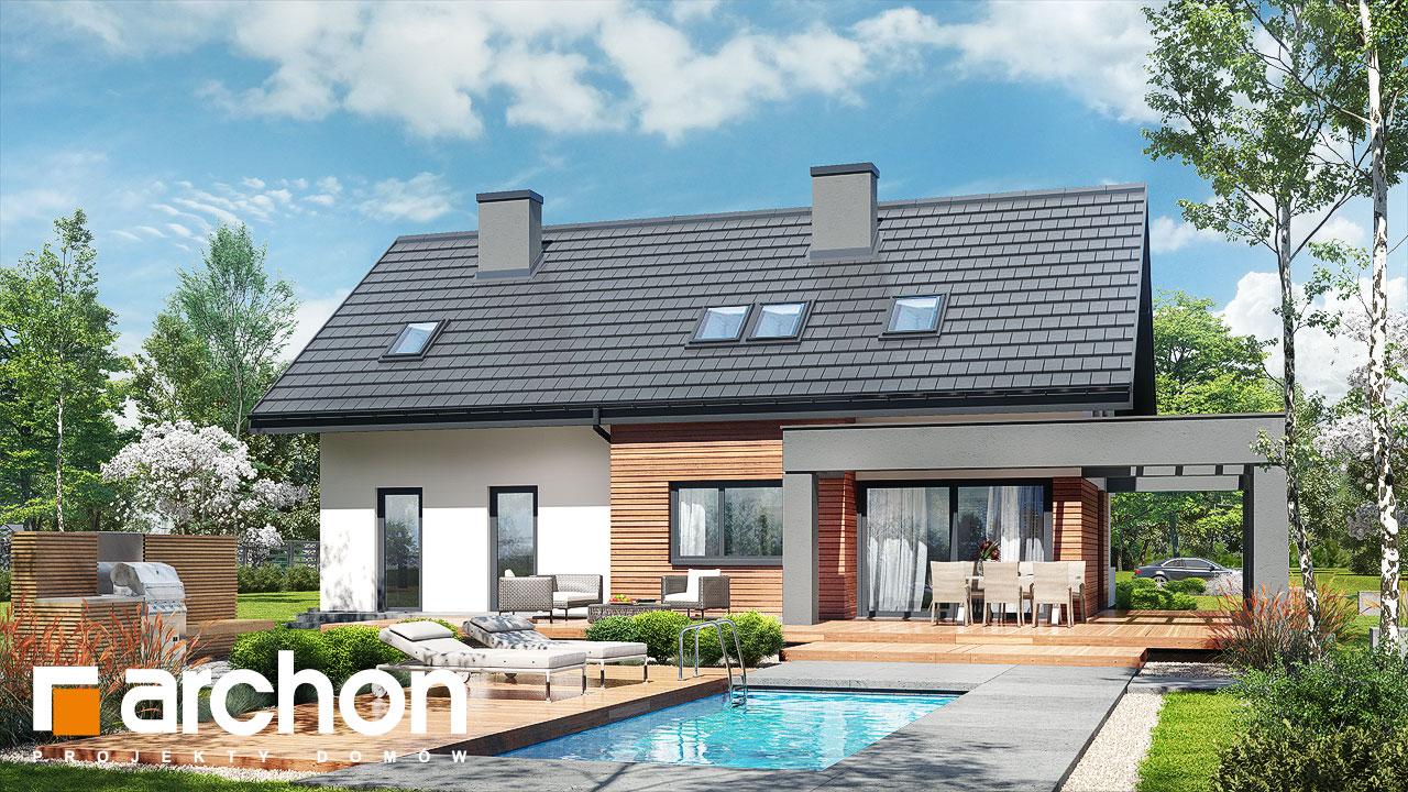 Проект будинку ARCHON+ Будинок в альбіціях 2 (Г2) Вид 2