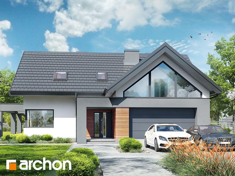 Проект будинку ARCHON+ Будинок в альбіціях 2 (Г2) Вид 1