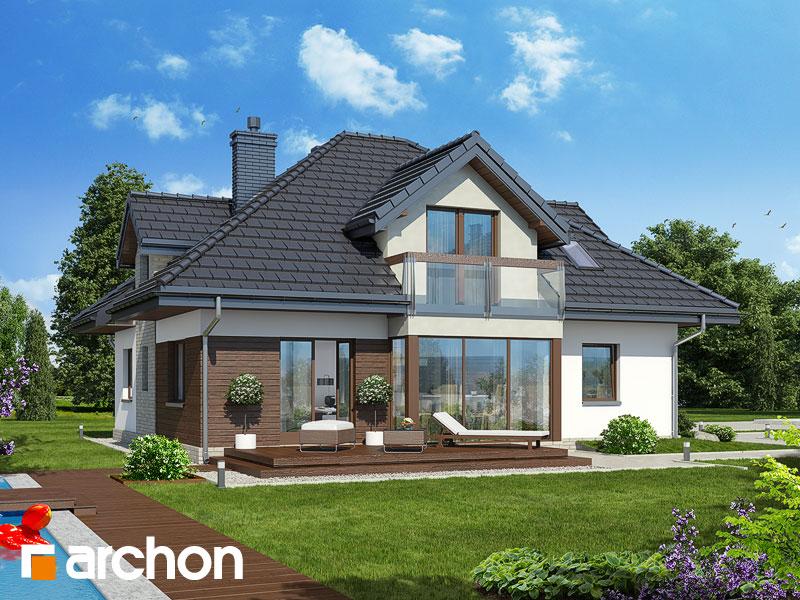 Проект будинку ARCHON+ Будинок в тим'яну 2 стилізація 4
