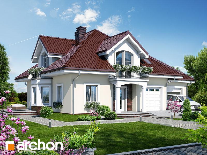 Проект будинку ARCHON+ Будинок в тим'яну 2 Вид 1