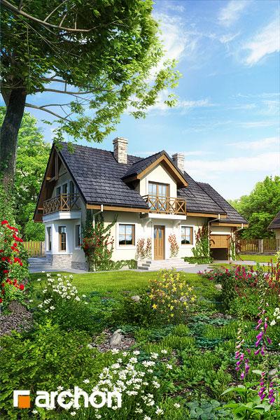 Проект будинку ARCHON+ Будинок в рододендронах 6 додаткова візуалізація