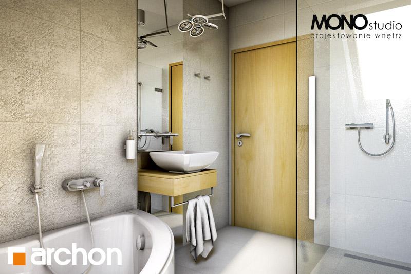 Проект будинку ARCHON+ Будинок в рододендронах 6 візуалізація ванни (візуалізація 1 від 2)