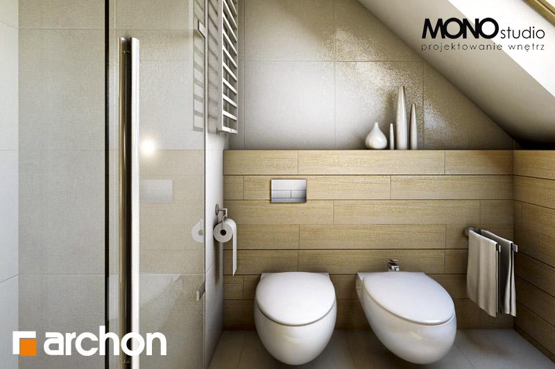 Проект будинку ARCHON+ Будинок в рододендронах 6 візуалізація ванни (візуалізація 1 від 4)