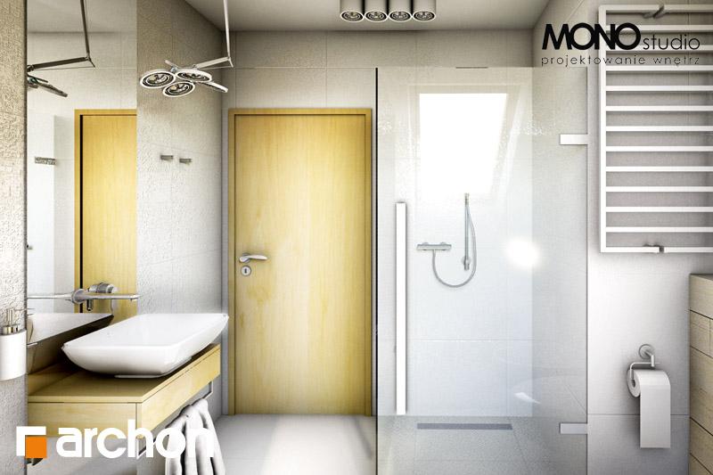 Проект будинку ARCHON+ Будинок в рододендронах 6 візуалізація ванни (візуалізація 1 від 5)