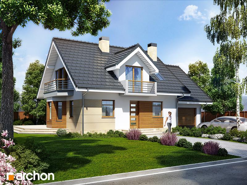 Проект будинку ARCHON+ Будинок в рододендронах 6 стилізація 3