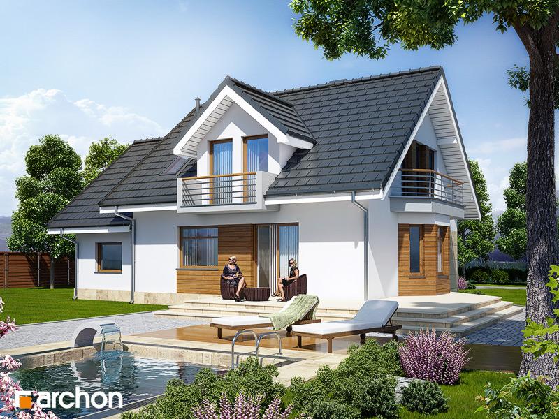 Проект будинку ARCHON+ Будинок в рододендронах 6 стилізація 4