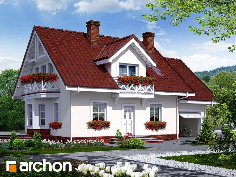 Проект будинку ARCHON+ Будинок в рододендронах 6 Вид 1