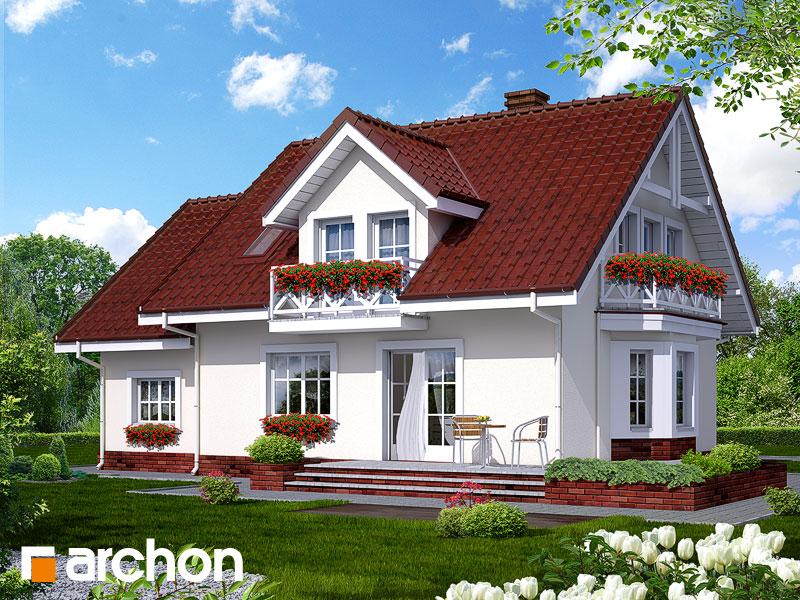 Проект будинку ARCHON+ Будинок в рододендронах 6 Вид 2