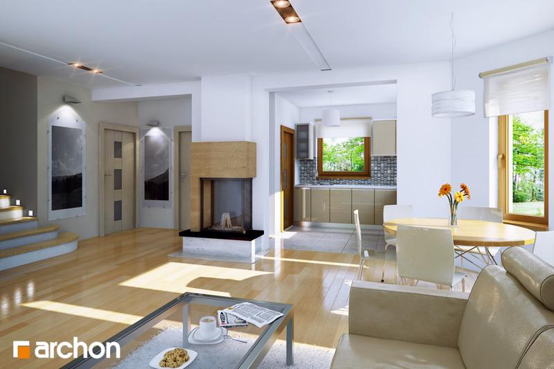 Проект будинку ARCHON+ Будинок в рододендронах 6 денна зона (візуалізація 1 від 1)