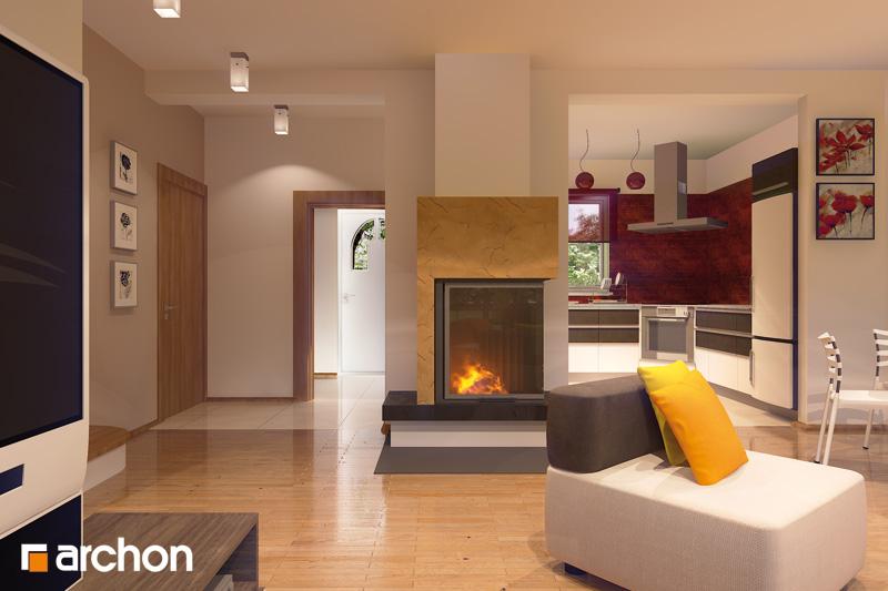 Проект будинку ARCHON+ Будинок в рододендронах 6 денна зона (візуалізація 2 від 2)