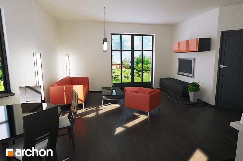 Проект будинку ARCHON+ Будинок в рододендронах 6 денна зона (візуалізація 3 від 1)