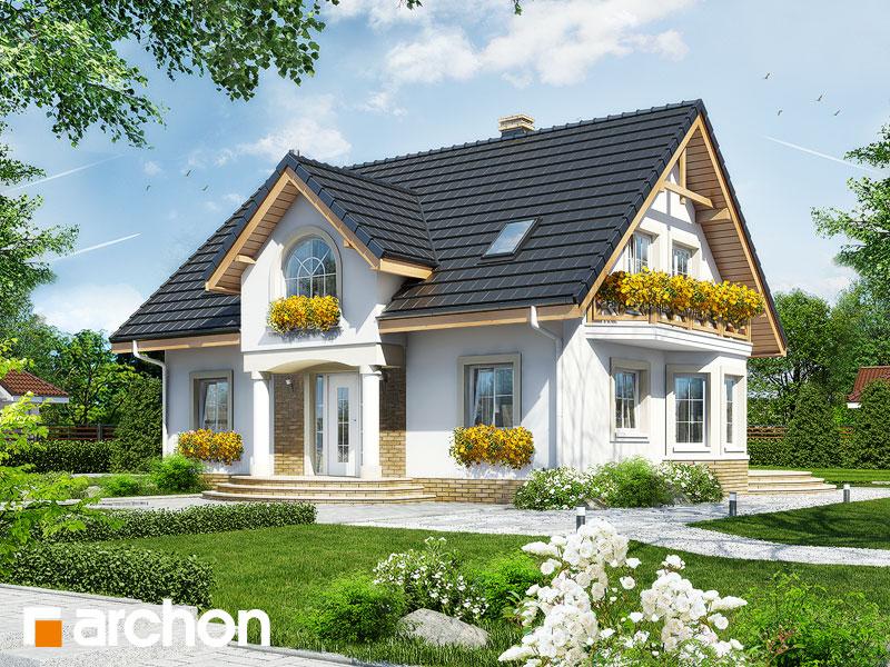 Проект будинку ARCHON+ Будинок в мірабеллі Вид 1