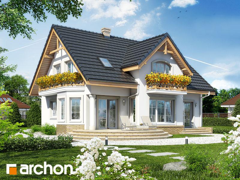 Проект будинку ARCHON+ Будинок в мірабеллі Вид 2