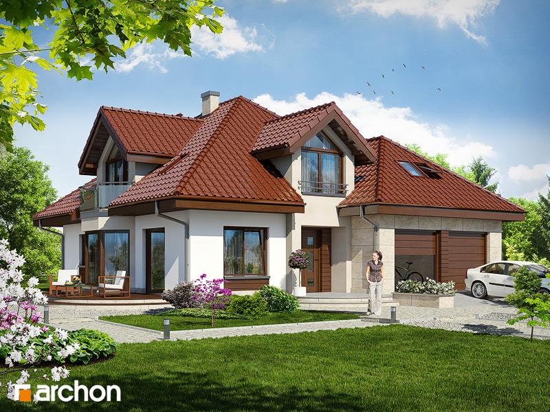 Проект дома ARCHON+ Дом в дуброве (Г2) стилизация 3